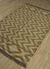 aqua ivory jute and hemp flat weaves Rug - FloorShot