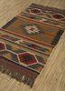bedouin gold jute and hemp flat weaves Rug - FloorShot