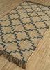 indusbar ivory jute and hemp flat weaves Rug - FloorShot