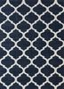 PDCT-59 Medieval Blue/White blue cotton flat weaves Rug