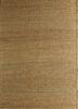 abrash beige and brown jute and hemp flat weaves Rug - HeadShot