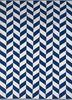 aqua blue cotton flat weaves Rug - HeadShot