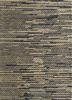 SDJT-203 Liquorice/Natural grey and black jute and hemp flat weaves Rug