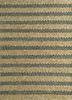 aqua beige and brown jute and hemp flat weaves Rug - HeadShot