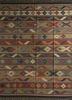 bedouin red and orange jute and hemp flat weaves Rug - HeadShot