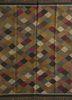bedouin pink and purple jute and hemp flat weaves Rug - HeadShot