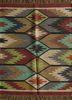 bedouin gold jute and hemp flat weaves Rug - HeadShot