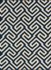 SDWL-143 Twilight Blue/White blue wool flat weaves Rug