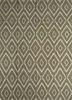 SDWL-378 Lemon/White gold wool flat weaves Rug
