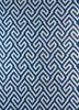 SDWL-482 Blue Berry/White blue wool flat weaves Rug