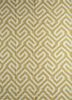 SDWL-482 Golden Apricot/White gold wool flat weaves Rug