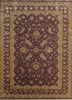SKWS-63 Wistful Mauve/Gold pink and purple wool and silk hand knotted Rug