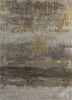 genesis ivory wool and viscose hand tufted Rug - HeadShot