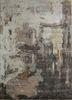 TAQ-4307 White/Liquorice ivory wool and viscose hand tufted Rug