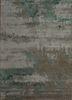 TAQ-4389 Ashwood/Mineral grey and black wool and viscose hand tufted Rug
