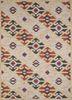 TRA-13085 Cornsilk/White gold wool hand tufted Rug