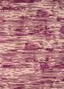 transcend pink and purple wool and viscose hand tufted Rug - HeadShot