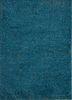 TX-1698 Ink Blue/Ink Blue blue linen hand knotted Rug