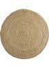 SDJT-161 Light Camel/Light Camel beige and brown jute and hemp flat weaves Rug