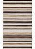 DR-04 Black Berry/Black Berry beige and brown wool flat weaves Rug