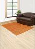abrash red and orange jute and hemp flat weaves Rug - RoomScene